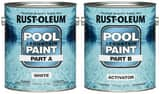 Rust-oleum 2-Gang Epoxy Pool Paint in White R267919