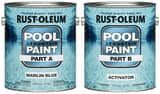 Rust-oleum 2-Gang Epoxy Pool Paint in Marlin Blue R267940