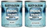 Rust-oleum 2-Gang Epoxy Pool Paint in Black R270182