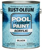 Rust-oleum 1-Gang Acrylic Pool Paint in Black R270183