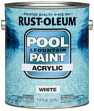 Rust-oleum 1-Gang Acrylic Pool Paint in White R269354