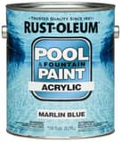 Rust-oleum 1-Gang Acrylic Pool Paint in Marlin Blue R269357