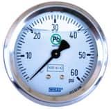 WIKA Bourdon Tube Pressure Gauge W50035428 at Pollardwater