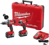 Milwaukee M18 Fuel™ Cordless 18V 2 Tool Kit M289722