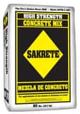William H. Harvey Sakrete® 80 lbs Bag Sack Pre- MixedConcrete S80