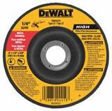 DEWALT 4-1/2 x 1/4 in. Grinding Wheel DDW4523 at Pollardwater