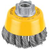 Dewalt 3 x 5/8 in. Carbon Steel Knotted Cup Brush DDW4910