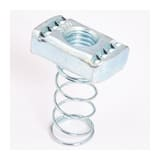 Cooper B-Line 5/16 in. Plated Nut with Spring BN223ZN