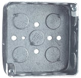 Thomas & Betts 4 in. Square Outlet Steel Box T5215112