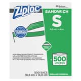 Eveready Battery Ziploc® 6-1/2 x 6 in. Commercial Sandwich Bag (Case of 500) D94600