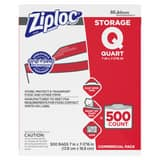 Eveready Battery Ziploc® 8 x 7 in. Commercial Storage Quart Bag (Case of 500) DIV94601