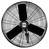 Air King America 24 in. 3-Blade Oscillating Wall Mount Portable Fan A9074
