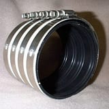 2000 Series 6 in. No-Hub Heavy Duty Stainless Steel Coupling DNHWBCU