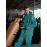 Dominator Chemical SUIT 2 Piece Green Double Extra Large R3882X2 at Pollardwater