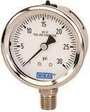 WIKA 1000 psi Stainless Steel Tube Pressure Gauge W52718475