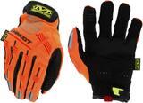 Mechanix Wear SMP-99 XL Size Synthetic Leather or Trekdry Mechanic Gloves in Orange MSMP99011