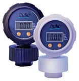 2-1/2 in. 150 psi 1/2 in. FNPT Digital Gauge with Isolator Polypro IOBSLC005PP at Pollardwater