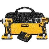 DEWALT Max® Cordless 20V 2 Tool Kit DDCK287D2 at Pollardwater