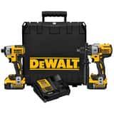 DEWALT Max® XR Cordless 20V 2 Tool Kit DDCK299P2