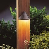 Kichler Lighting 2.5W 1-Light LED Deck Light in Textured Architectural Bronze KK15765AZT27R