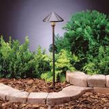 Kichler Lighting 4W 1-Light LED Path Light in Textured Architectural Bronze KK15826AZT27R