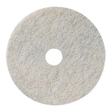 3M 20 in. Burnishing Pad in White (Case of 5) 3M04801135082
