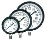 Thuemling Industrial Products Bourdon 3-1/2 in. 400 psi Liquid Filled Pressure Gauge T1542673 at Pollardwater