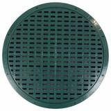 Polylok 17-3/50 in. Grate for Corrugated Pipe in Dark Green P300415GR