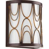 Progress Lighting 75W 1-Light Incandescent Wall Sconce in Antique Bronze PP714920