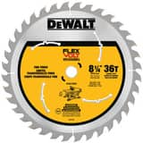 DEWALT Flexvolt™ 8-1/4 in. Carbide Circular Saw Blade DDWAFV3836