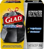 Clorox ForceFlex® Trash Bag in Black (Case of 28) CLO70358