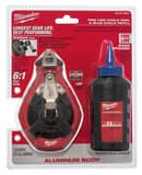 Milwaukee 100 ft. Precision Line Kit with Blue Chalk M48223992