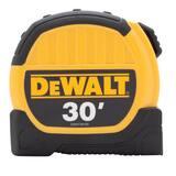 DEWALT 30 ft. Tape Measure in Yellow and Black DDWHT36109
