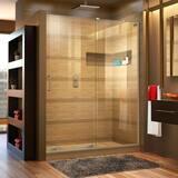 DreamLine Mirage-X 48 in. Frameless Sliding Shower Door with Right Wall Bracket DSHDR1948723R