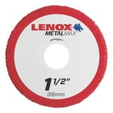 Lenox 3/8 x 1-1/2 in. Die Grinder Cut-Off Wheel L1972914