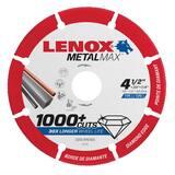 LENOX® 7/8 x 4-1/2 in. Angle Grinder Cut-Off Wheel L1972921