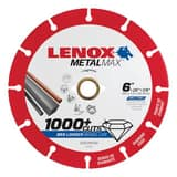 Lenox 7/8 x 6 in. Angle Grinder or Circular Saw Cut-Off Wheel L1972923