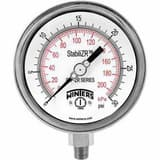 Winter's Thermogauges 4 in. Steel Pressure Gauge WPEM22