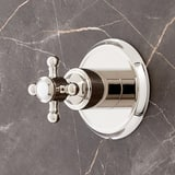 Mirabelle® Boca Raton Transfer Valve in Polished Nickel MIRBR9005PN