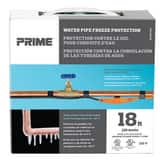 Prime Wire and Cable 18 ft. Water Pipe Heating Cable in Black PPHC126W18