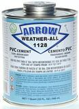 Arrow Adhesives 1 qt PVC Cold Weather Cement AA1128Q