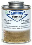 Arrow Adhesives PVC Cement A1104RB