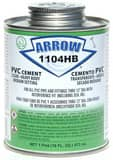 Arrow Adhesives 1 qt PVC Cement A1104HBQ