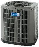American Standard HVAC 4A6C4 Silver 14 Commercial Heat Pump Condenser A4A6C4048A3000A