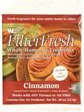 Web Products FilterFresh Cinnamon Air Filter Freshener in White WCIN