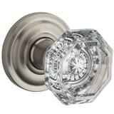 Baldwin Hardware Crystal Passage Door Knob B9BR35221