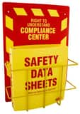 SAS Safety MSDS Compliance Center-Wall Mount S600075