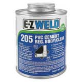 E-Z Weld 16 oz Plastic Grey Pipe Cement E20603