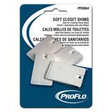 PROFLO® PFCSSA Series PVC Soft Closet Wedge Shim 4 Pack PFCSSA4