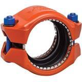 Victaulic QuickVic® Orange and Black Enamel Ductile Iron Coupling VL905PT0